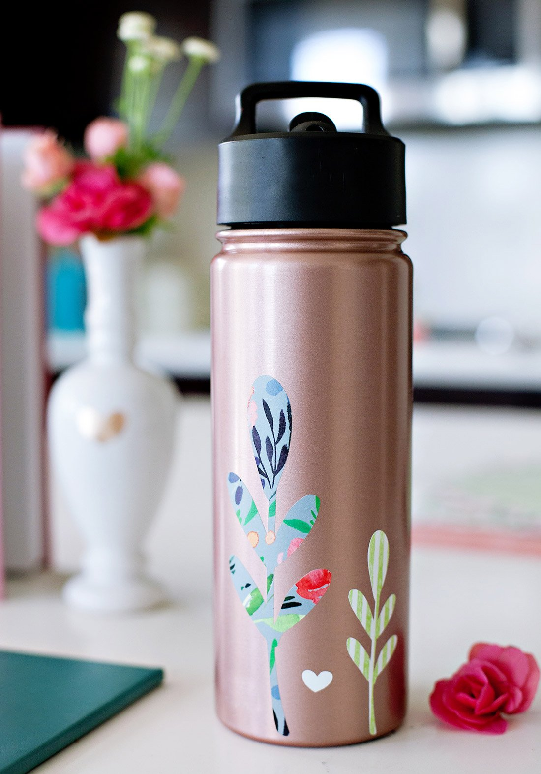 Personalize Water Bottle with Cricut