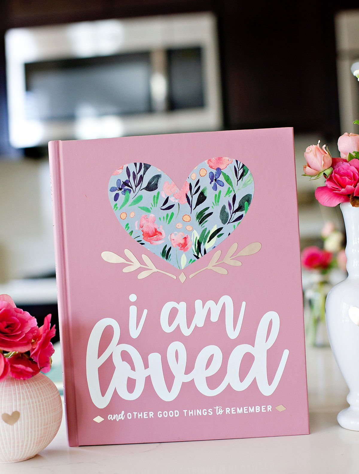 I am loved journal - free printable