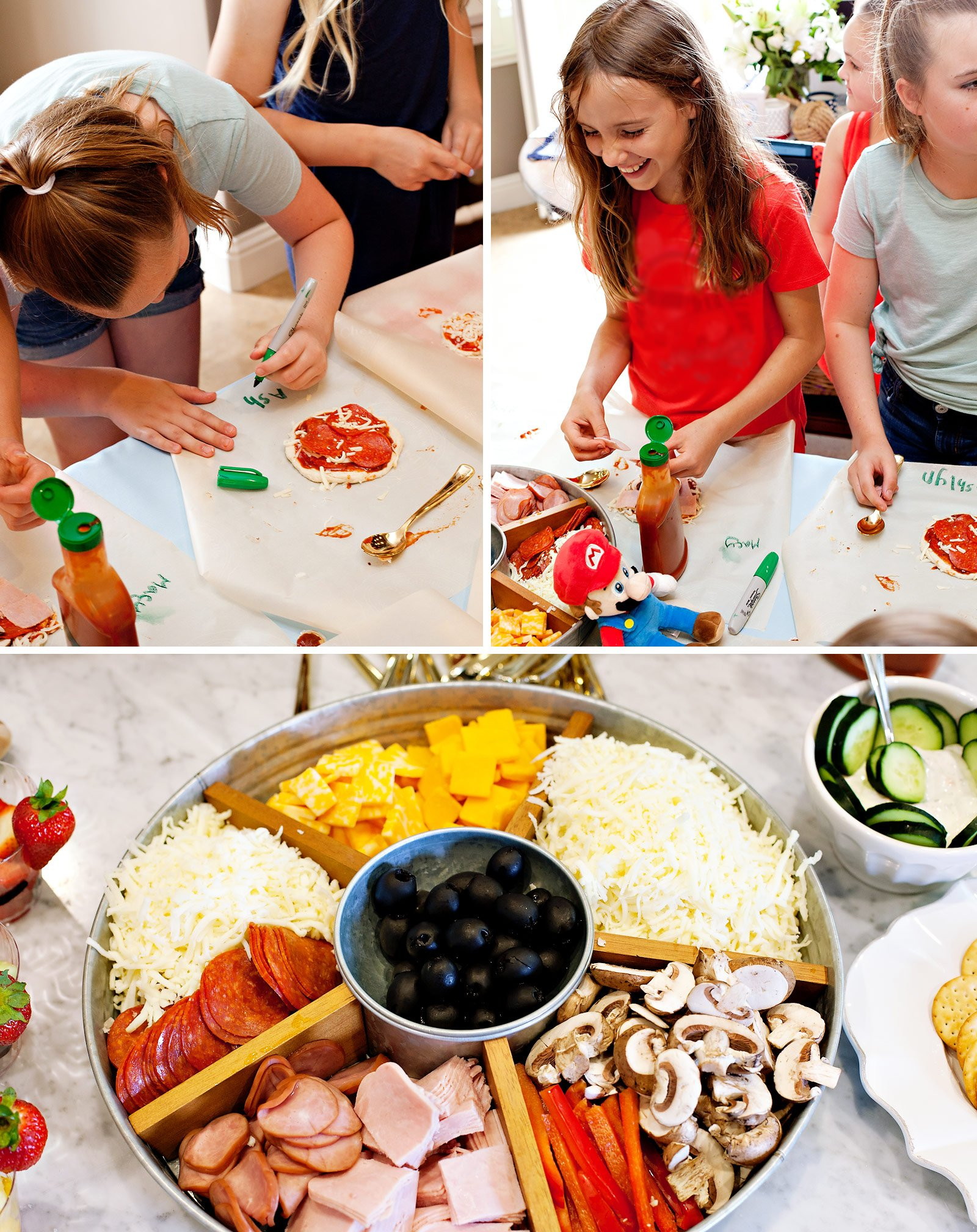 Kids Party Pizza Station