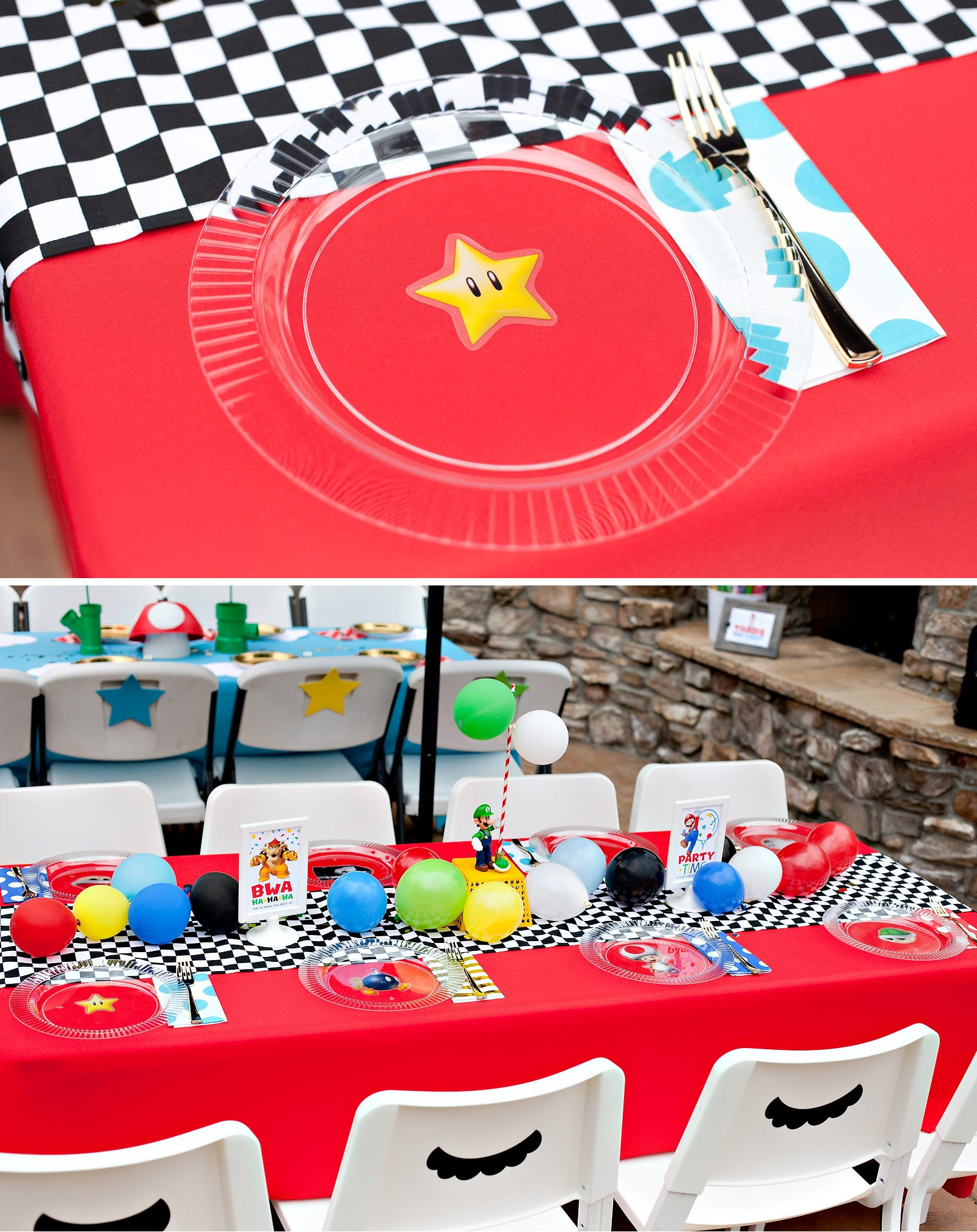 Mario Kart Party Table