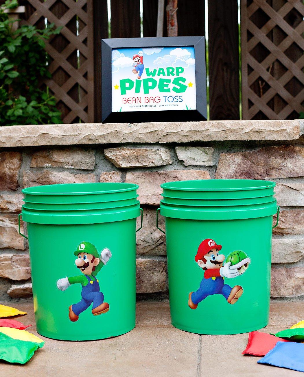 Super Mario Party Bean Bag Toss