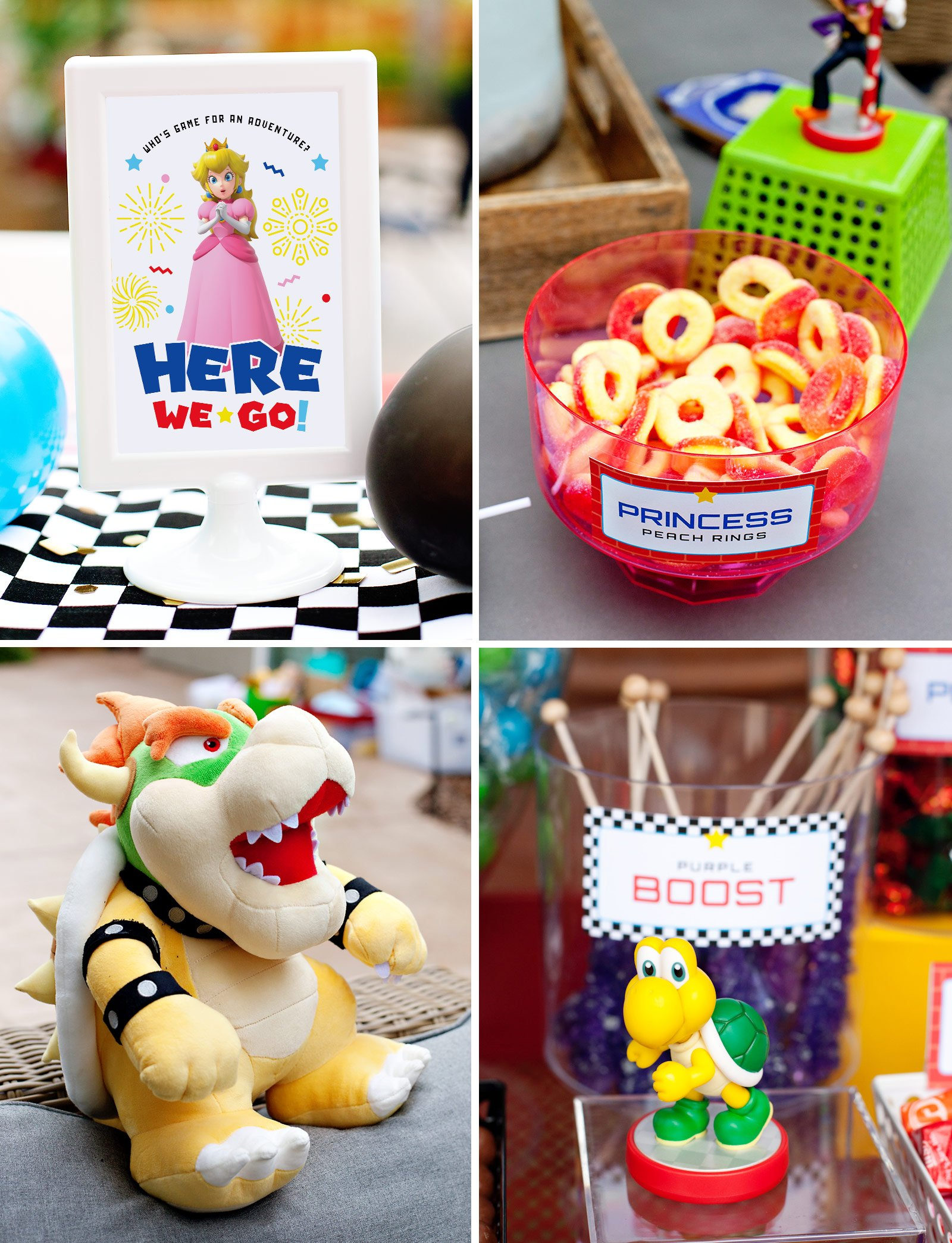 super mario party decorations DIY