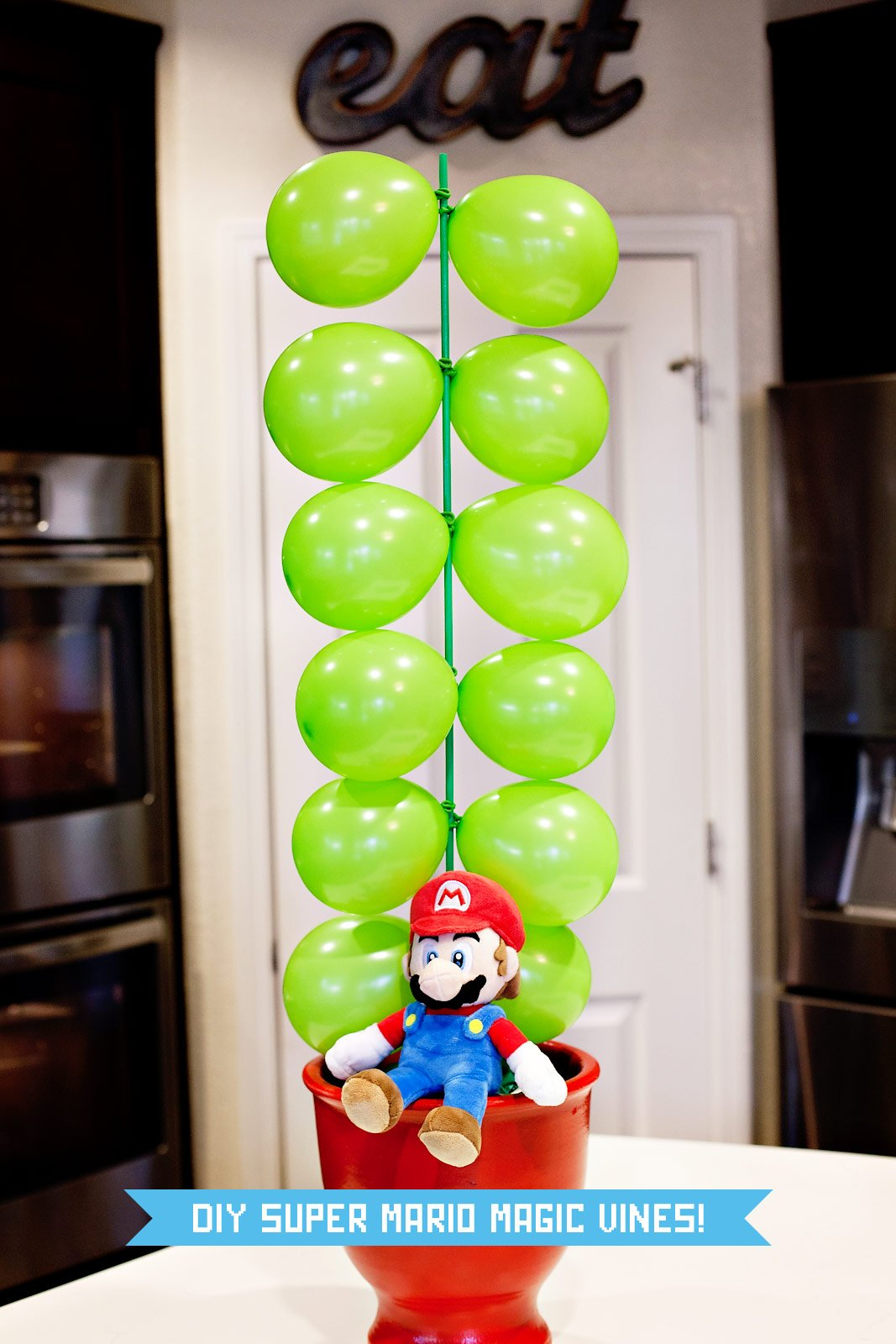 DIY Mario Magic Vines