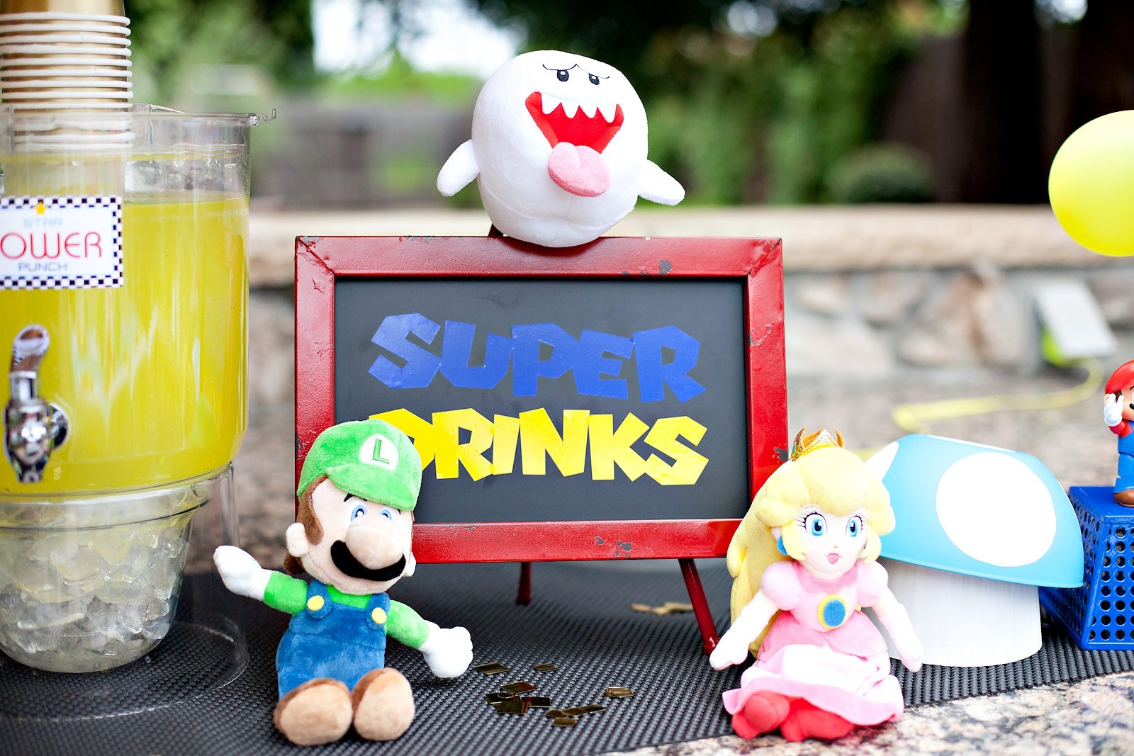 Super Mario Party Drinks