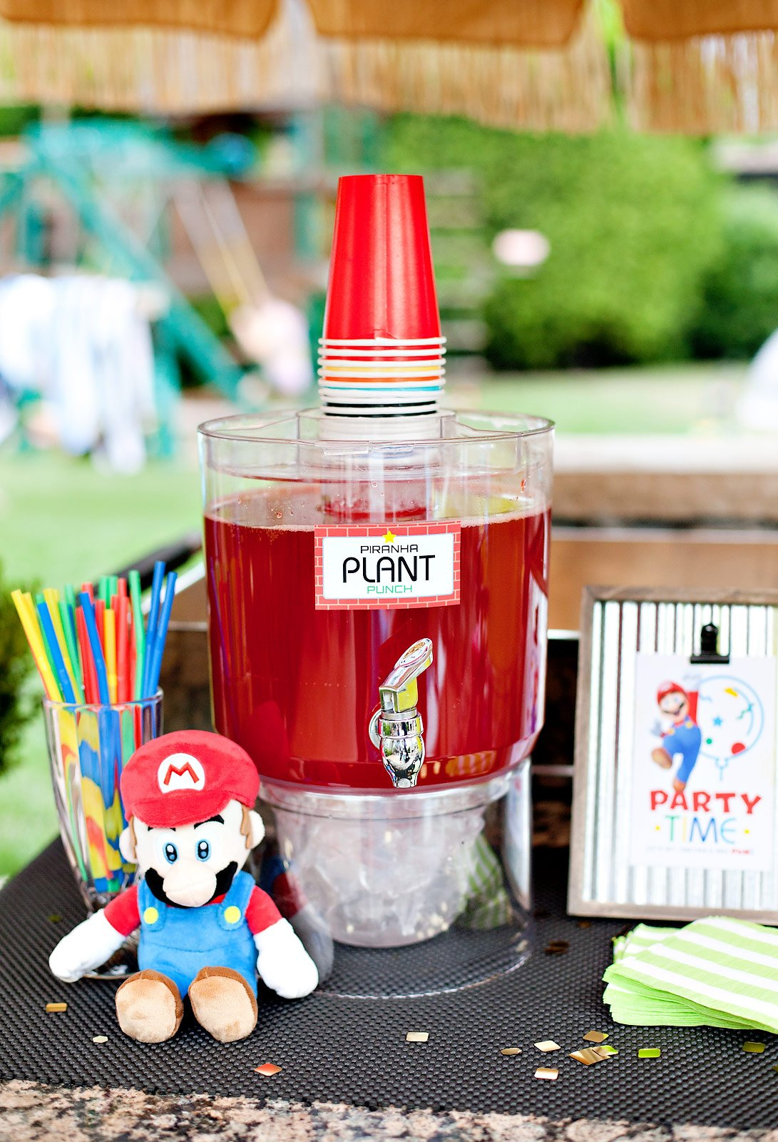 Piranha Plant Punch - Party Drink