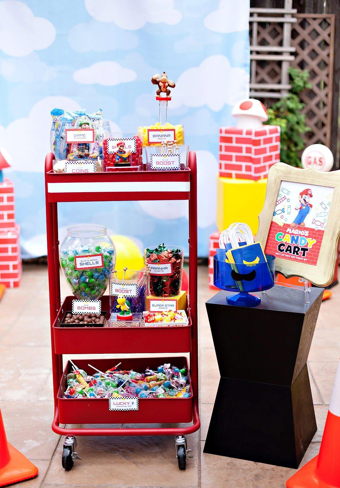 Mario's Candy Cart