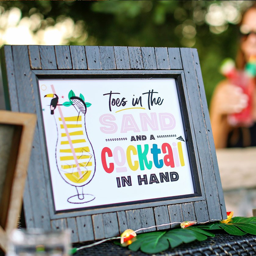 10 Creative Ideas for Your Tropical Summer Bash (Part 1)