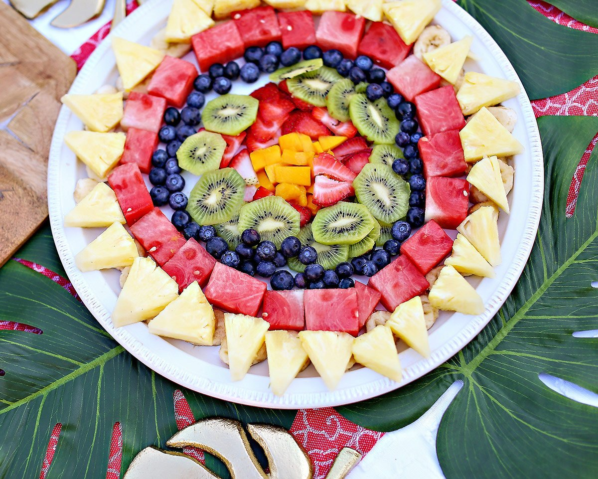 summer party fruit tray ideas