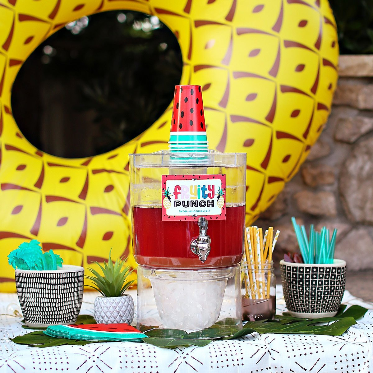 non-alcoholic summer party punch