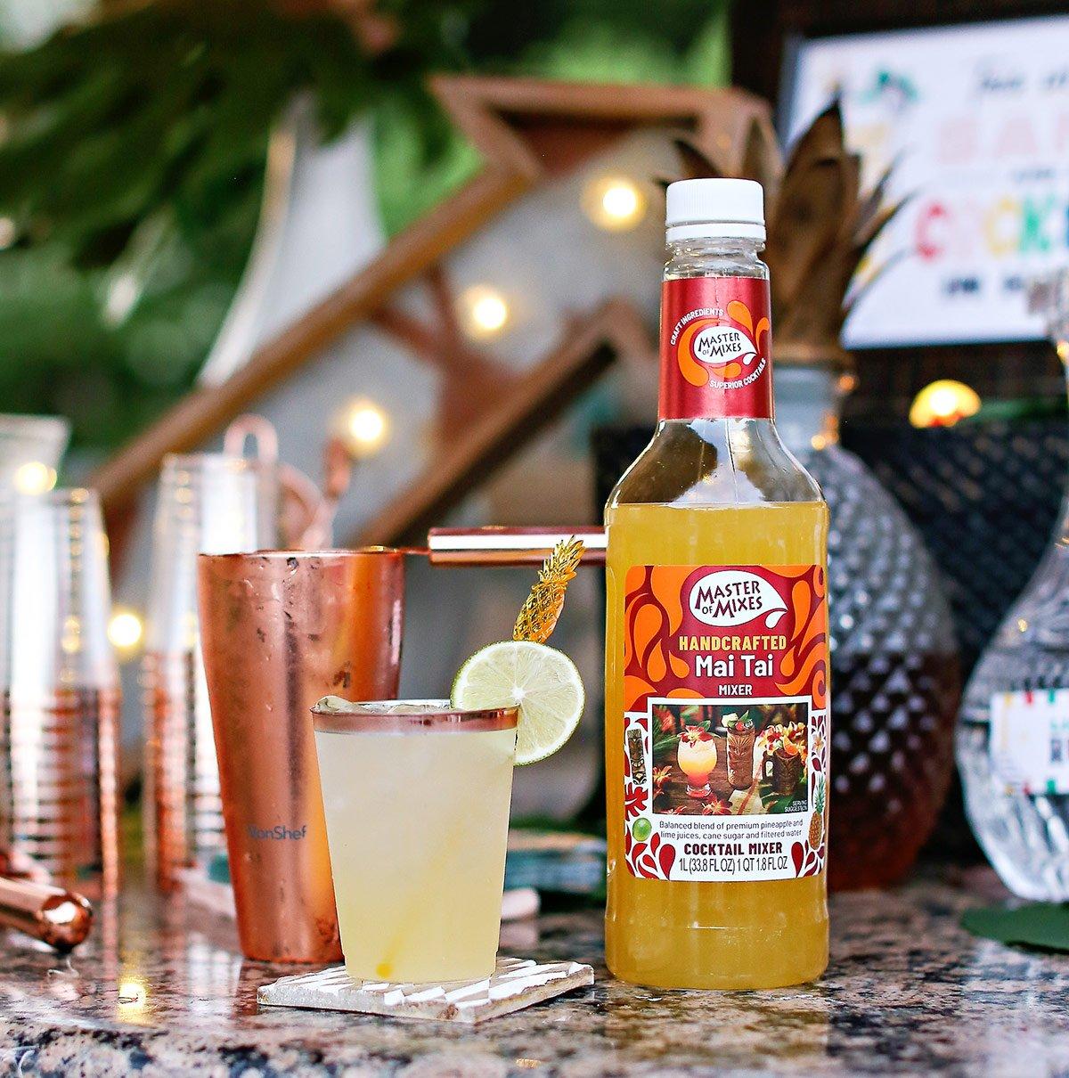 Mai Tai Mule cocktail