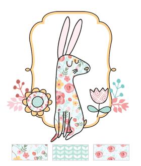 Shabby Chic Easter Printables