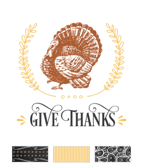 Rustic Thanksgiving Printables