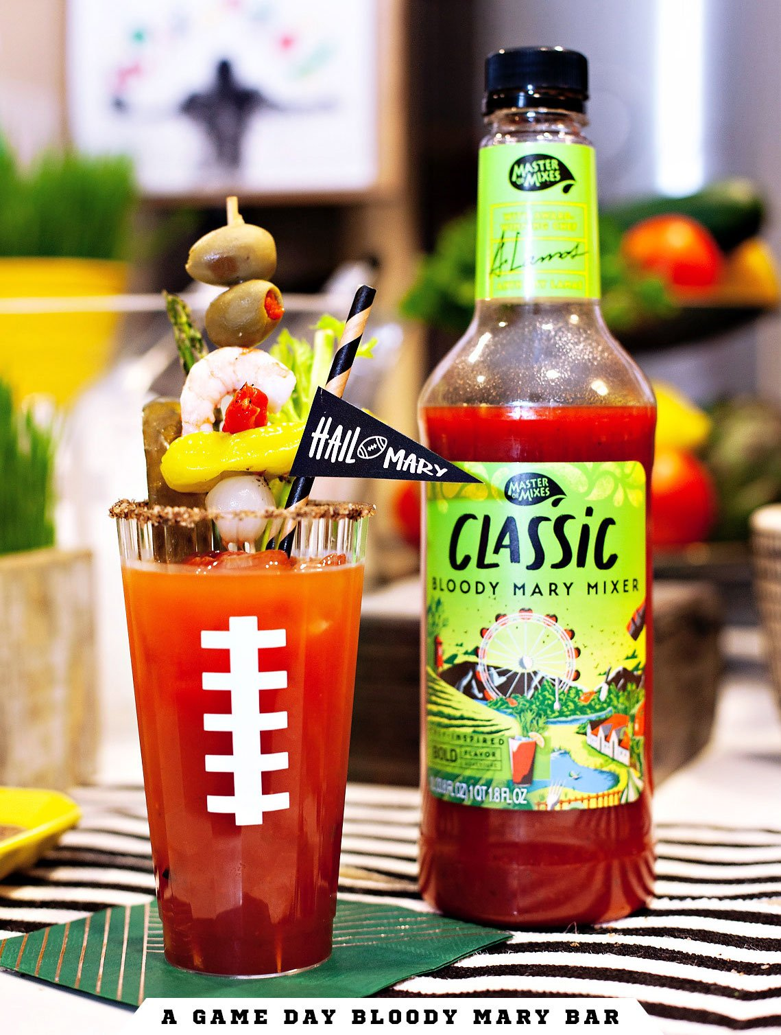 Football Party Bloody Mary