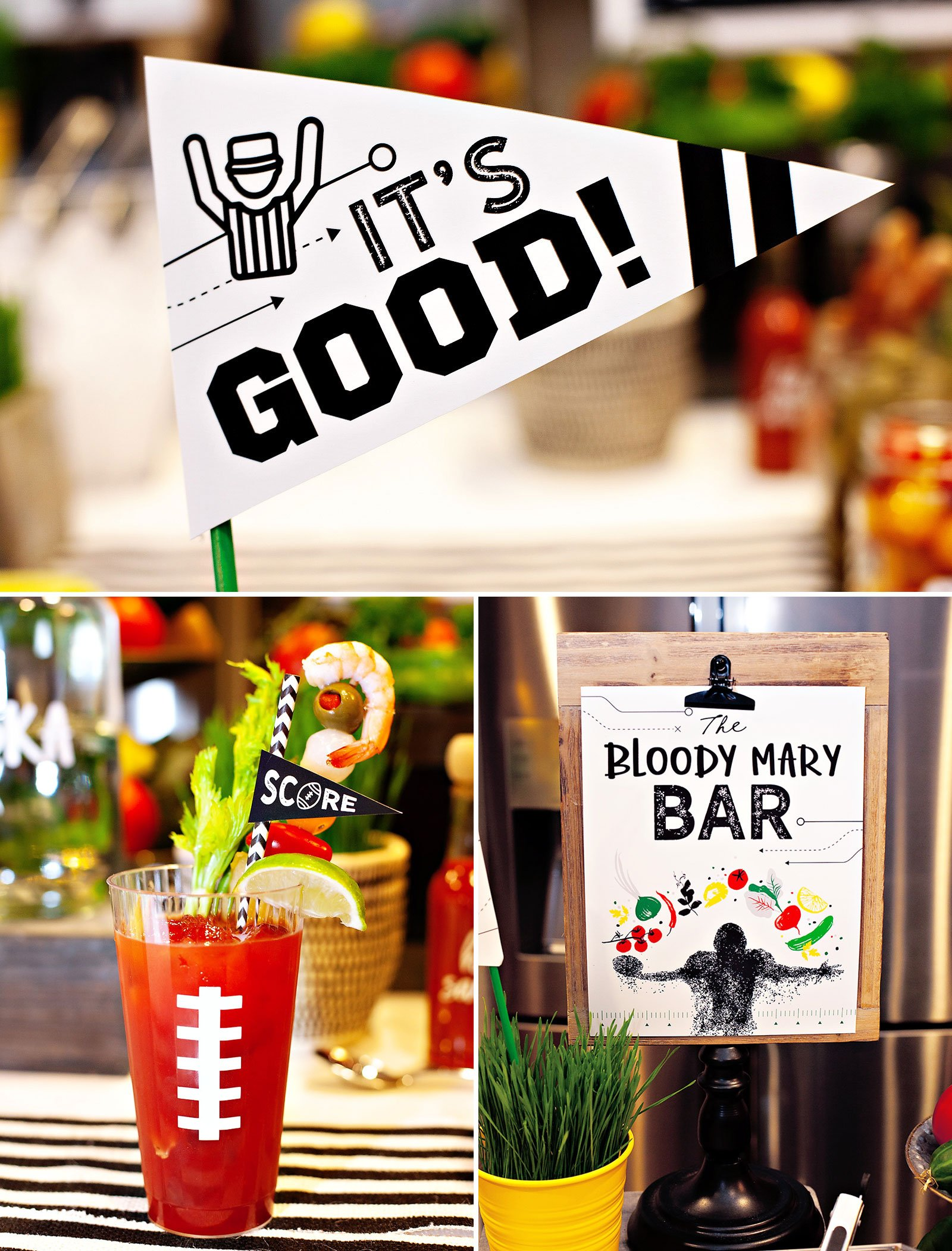 Bloody Mary Bar Printables