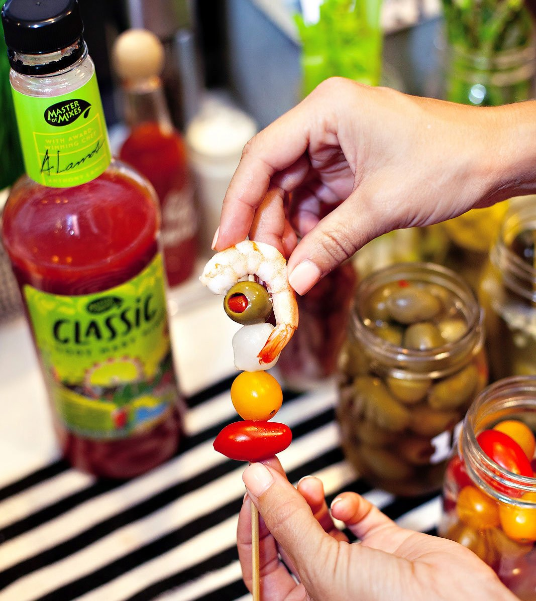Bloody Mary Garnish Skewer