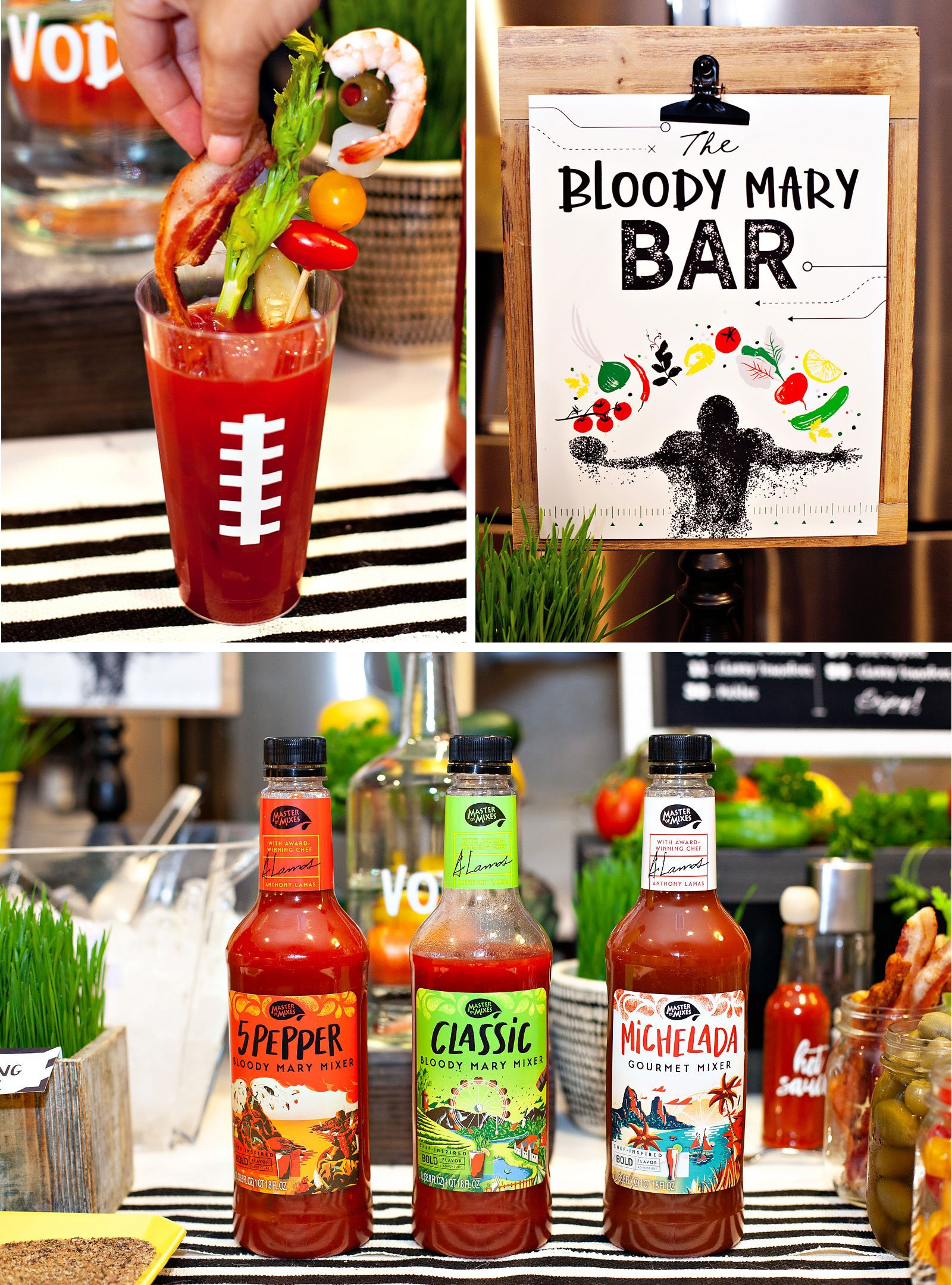 Creative Bloody Mary Bar Ideas