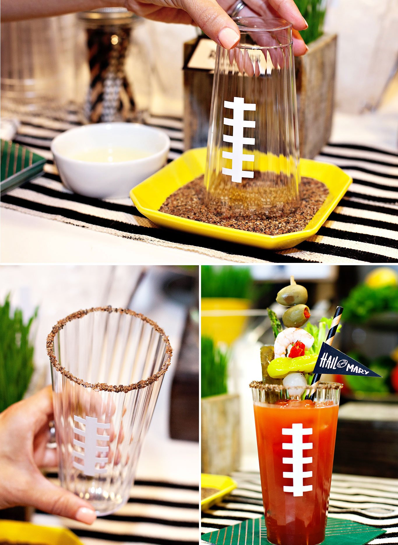 how to rim a bloody mary