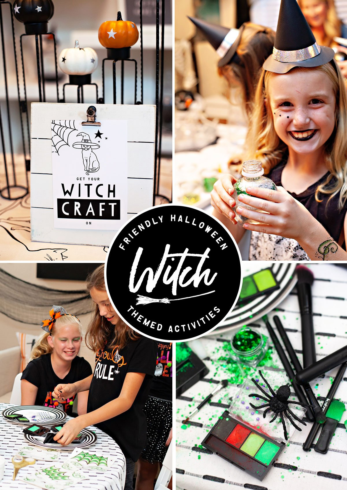 Witch Themed Activity Ideas - Halloween