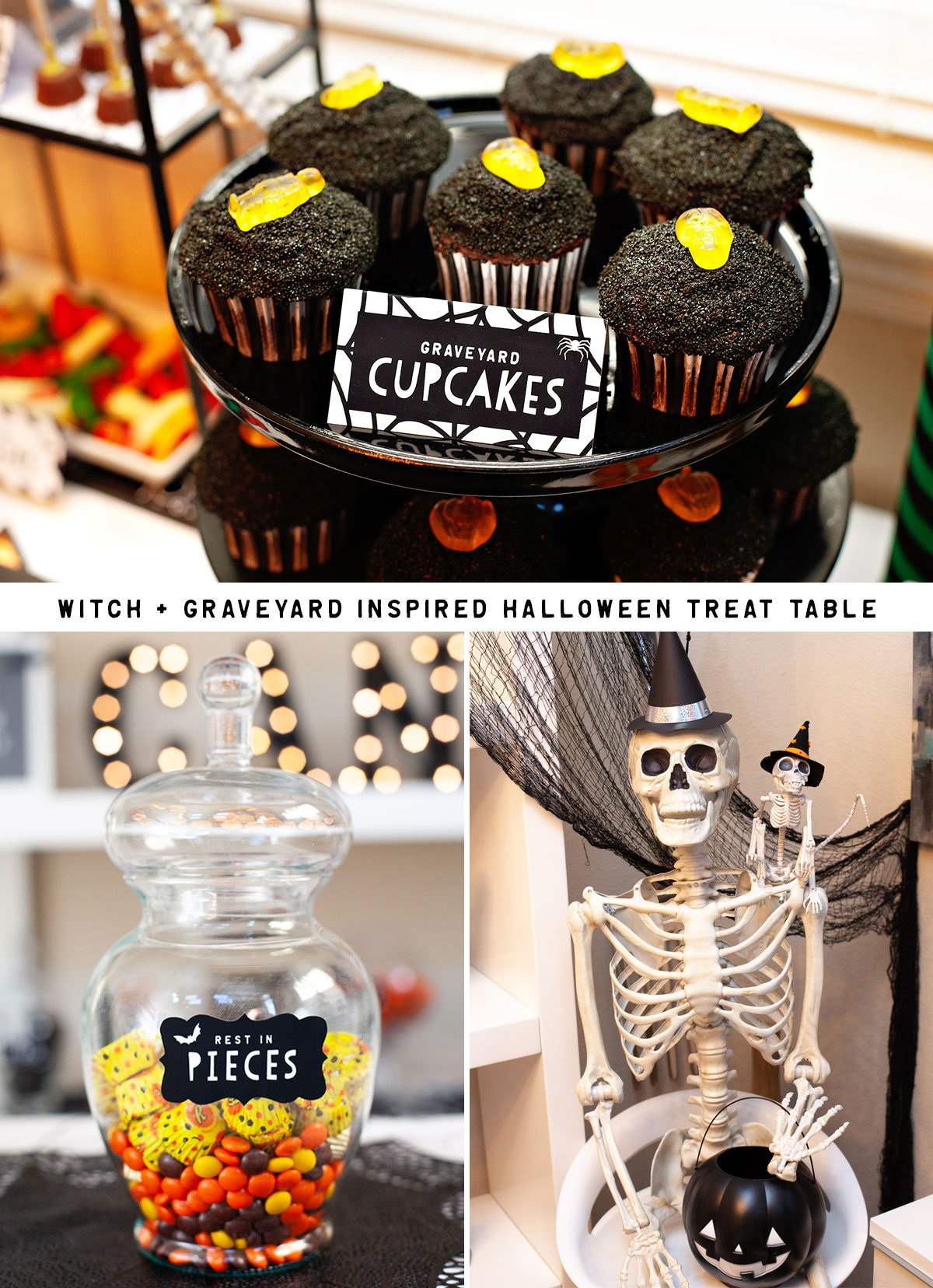 Modern Halloween Dessert Table Ideas