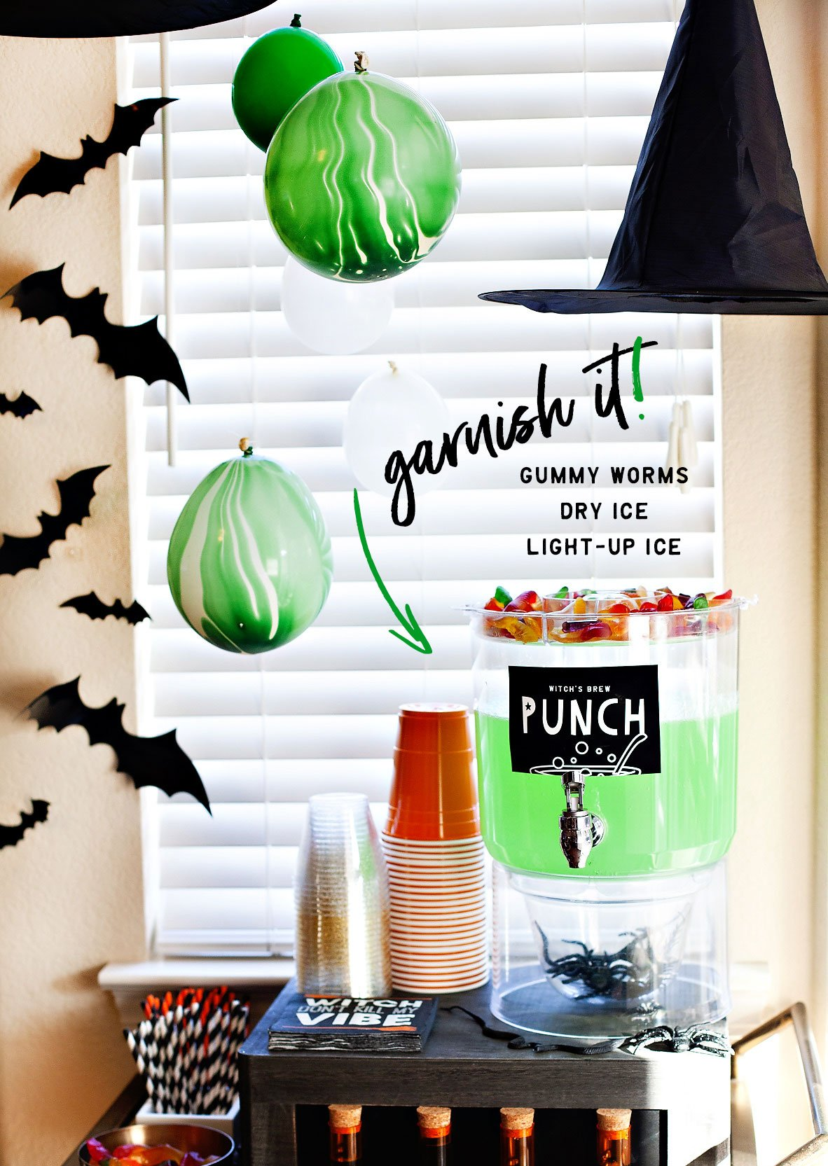 Kids Halloween Drink Station