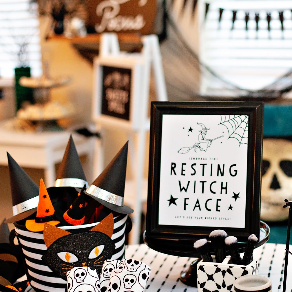 A Modern Witch Inspired Halloween Party
