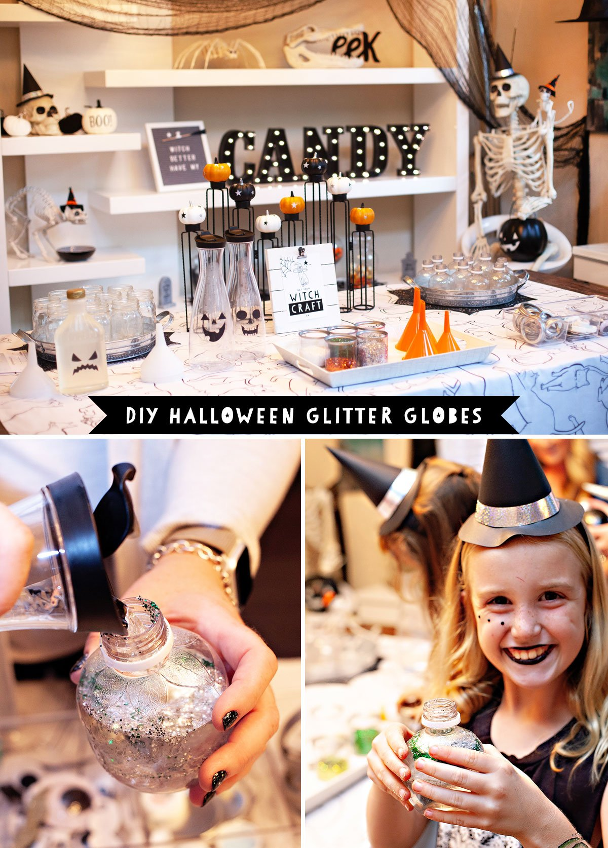 Halloween Party Kids Craft Idea