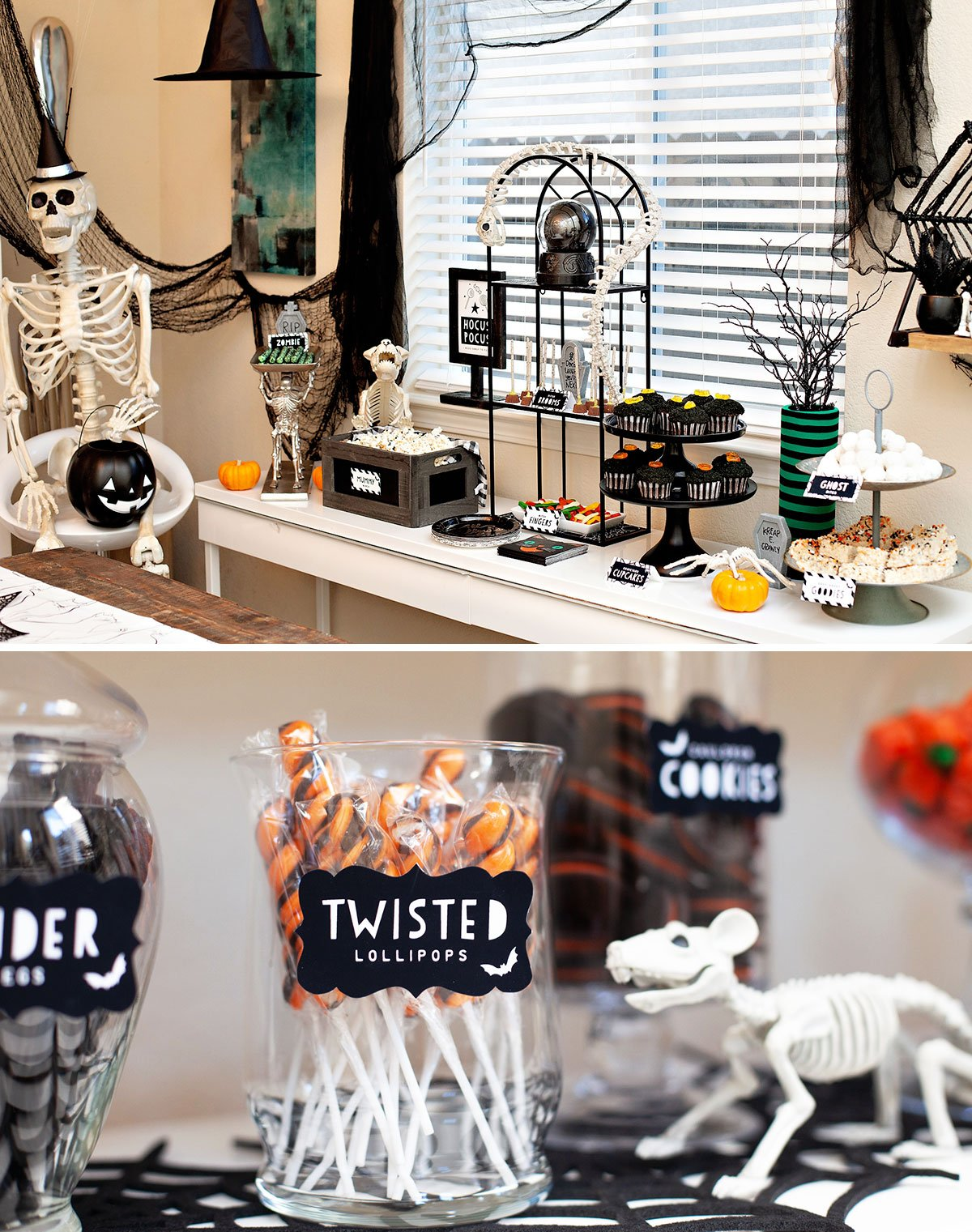 Halloween Dessert Table Ideas and Signs