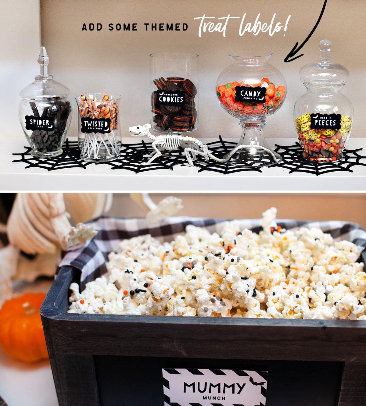 Halloween Candy Jar Labels - Printable