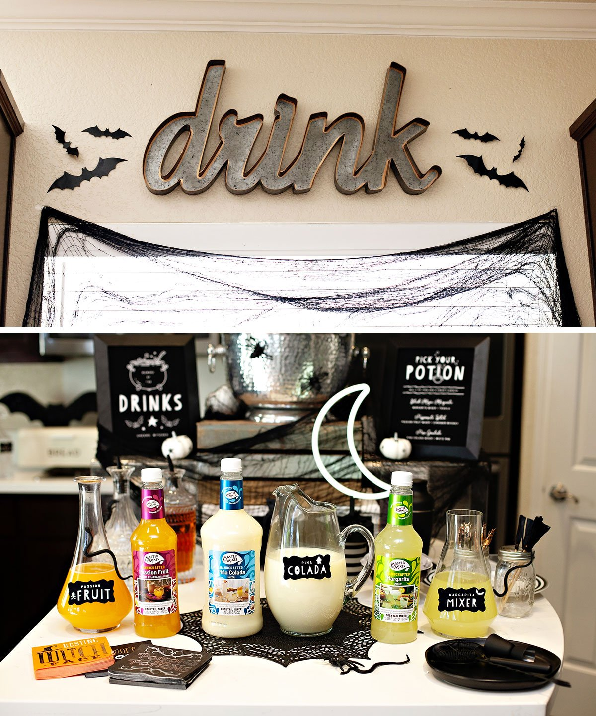 Halloween Signature Drinks and Mixers