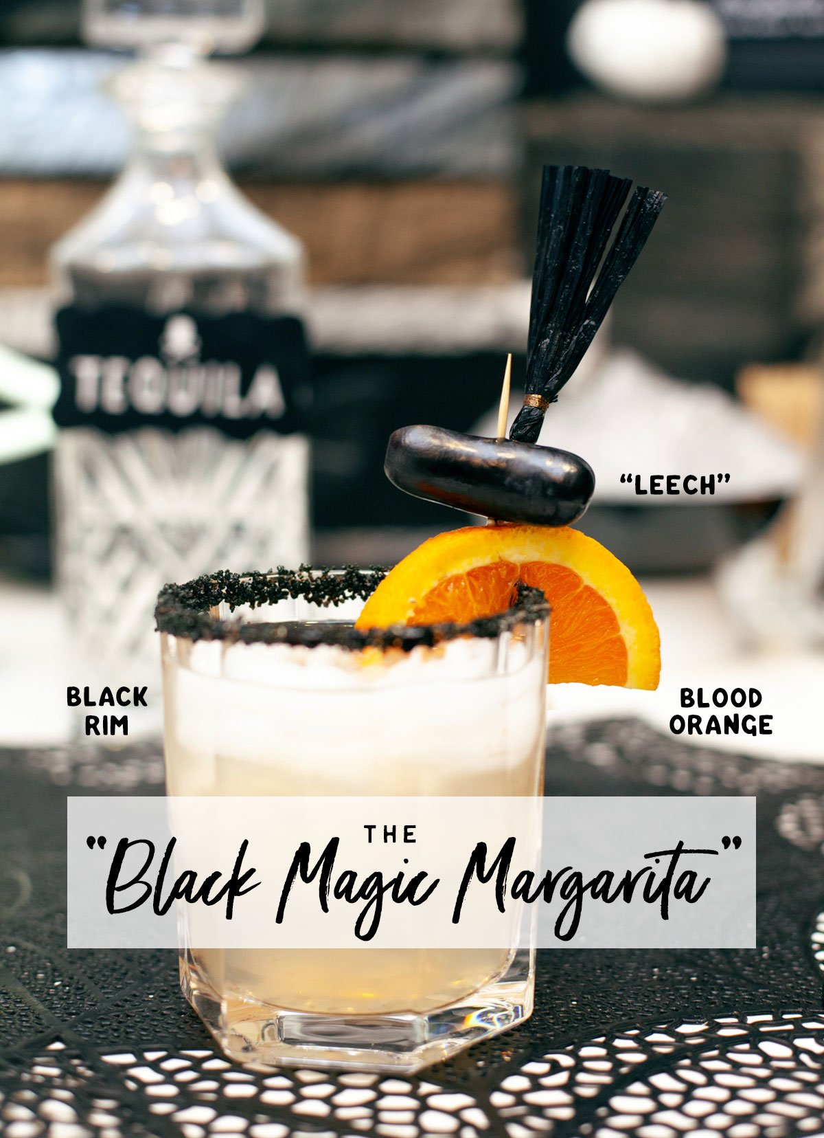 Halloween Margarita Cocktail