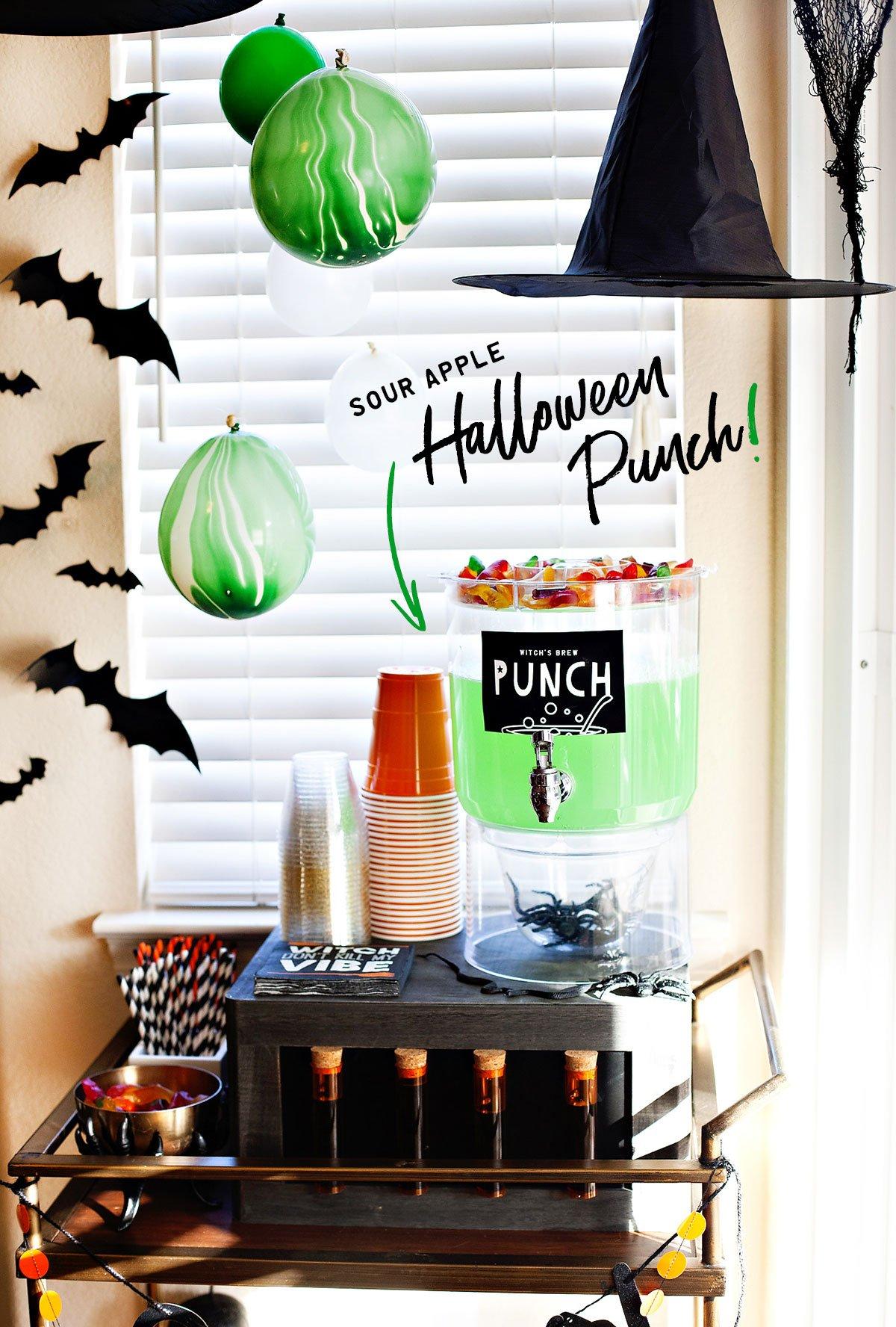 Kids Halloween Drink Station