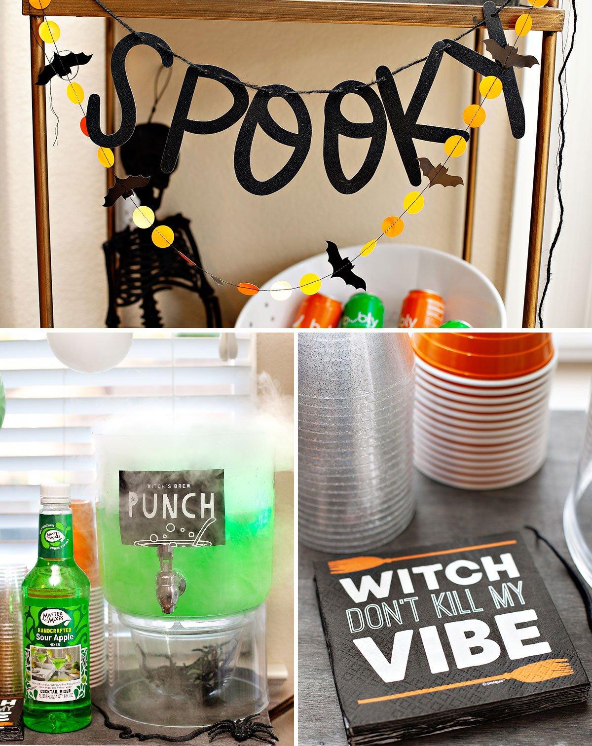 Kids Halloween Party Drink Ideas
