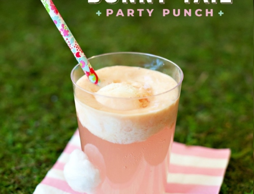 "Sweet & Simple ""Bunny Tail"" Party Punch"
