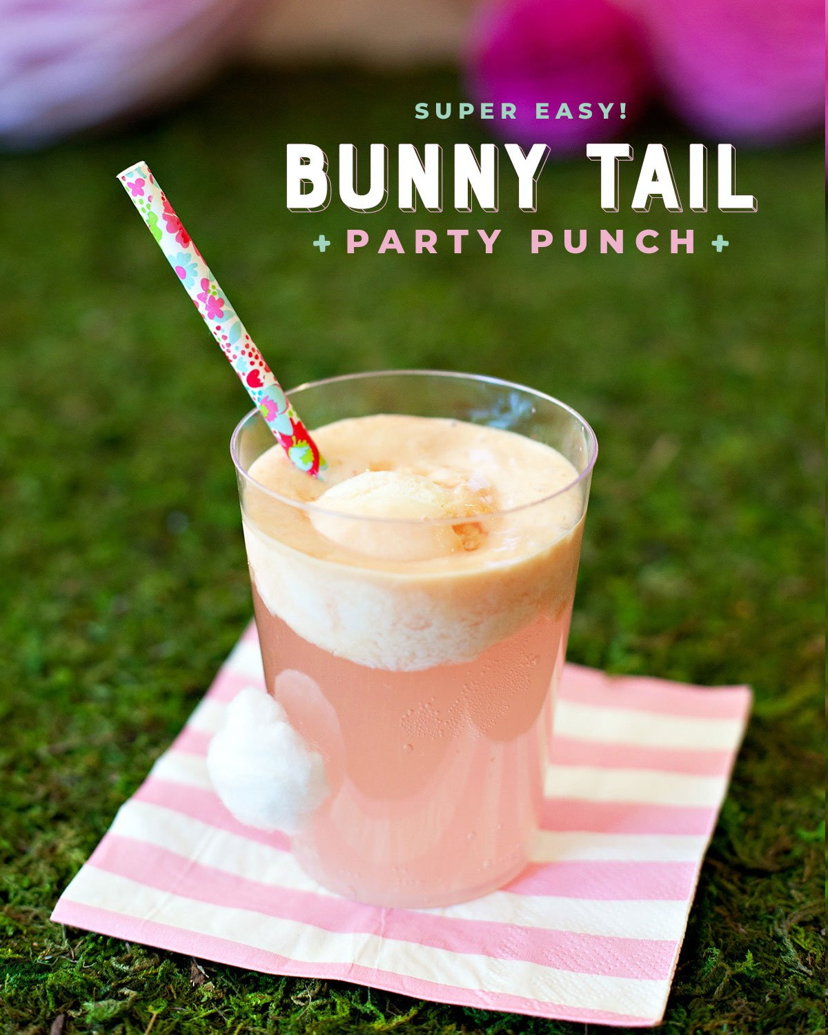 Bunny Birthday Party Punch
