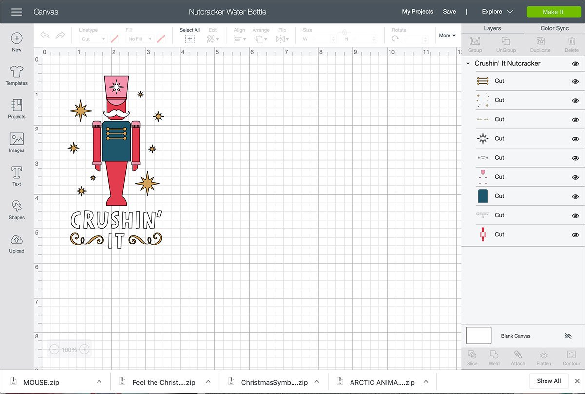 Cricut Design Space Preview
