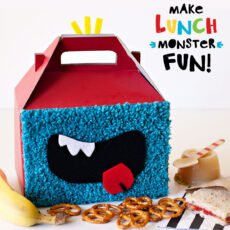 Cute Little Monster Party Lunch