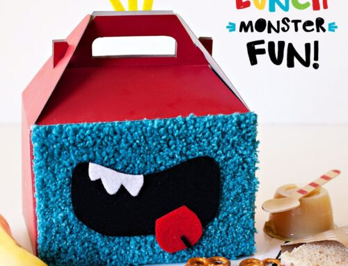 Cute DIY Monster Mouth Lunch Boxes