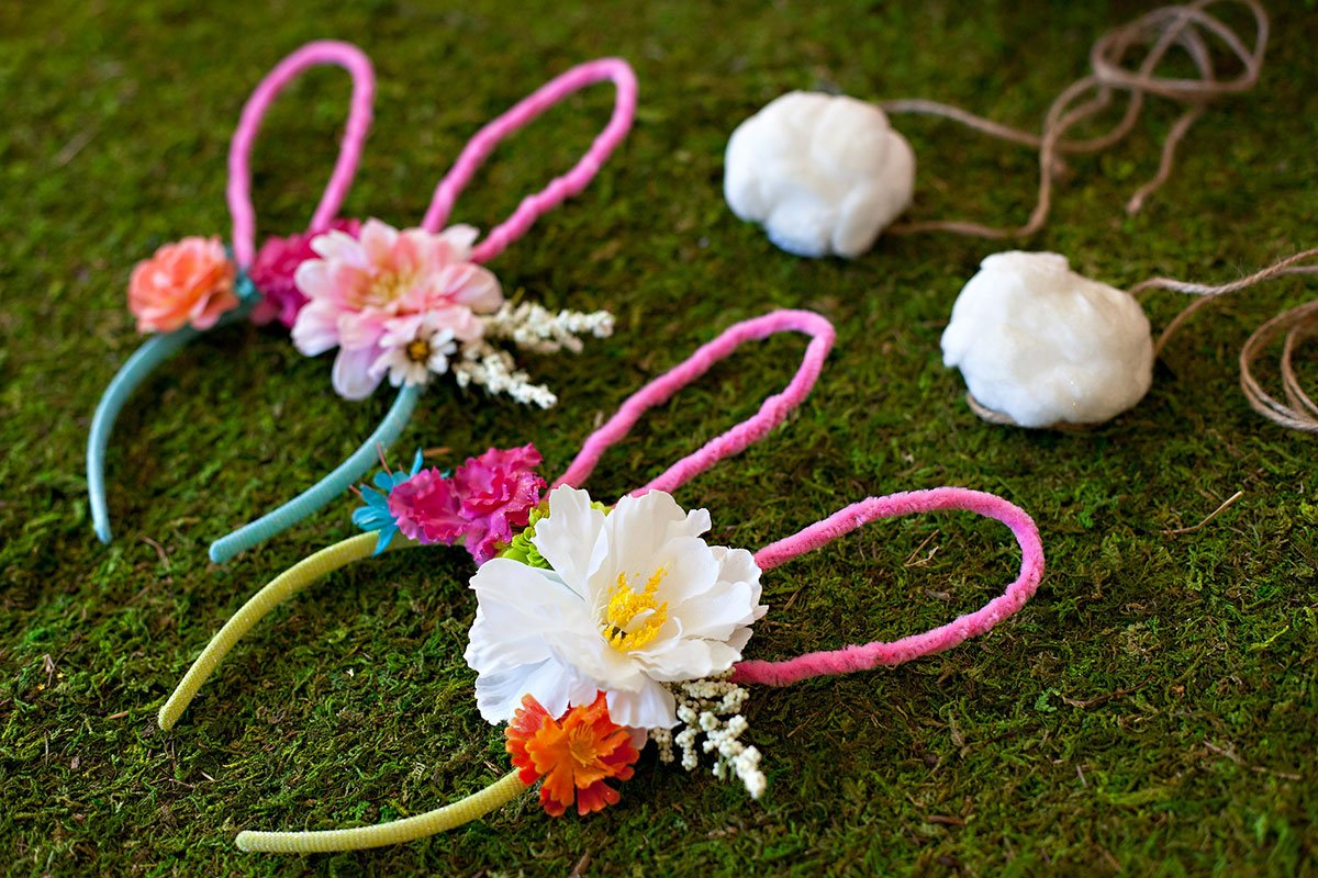 DIY Easter Bunny Ears and Tail