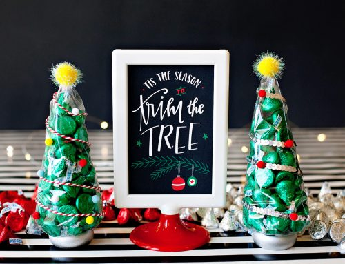 KISS-mas Tree Holiday Gifts + Free Printable