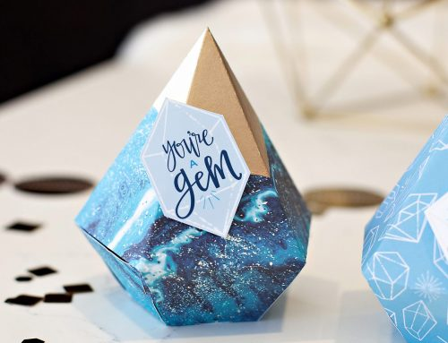 Cricut Crafts: Gemstone Favor Boxes