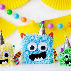 Little Monster Party Centerpiece