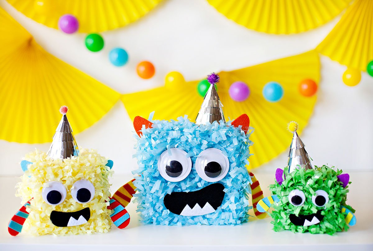 Little Monster Party Centerpiece