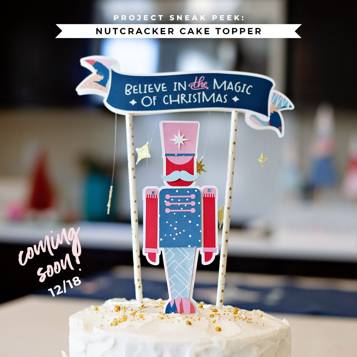 Nutcracker Cake Topper