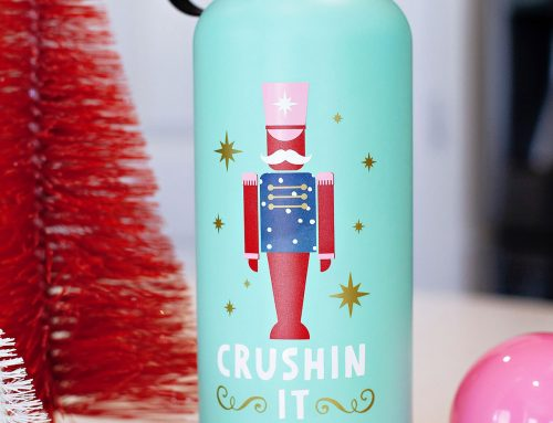 Nutcracker + Holiday Mode Water Bottles