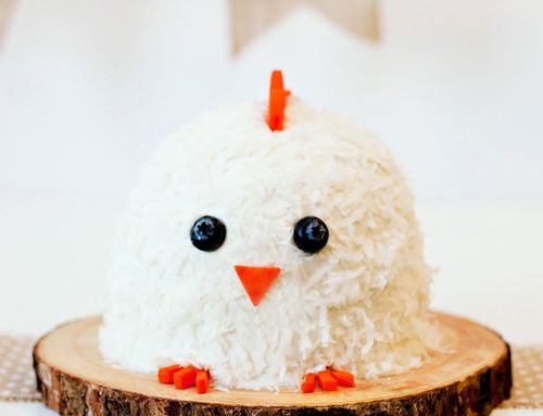 Baby Chick Smash Cake (First Birthday)