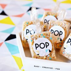 About to Pop Baby Shower Favors