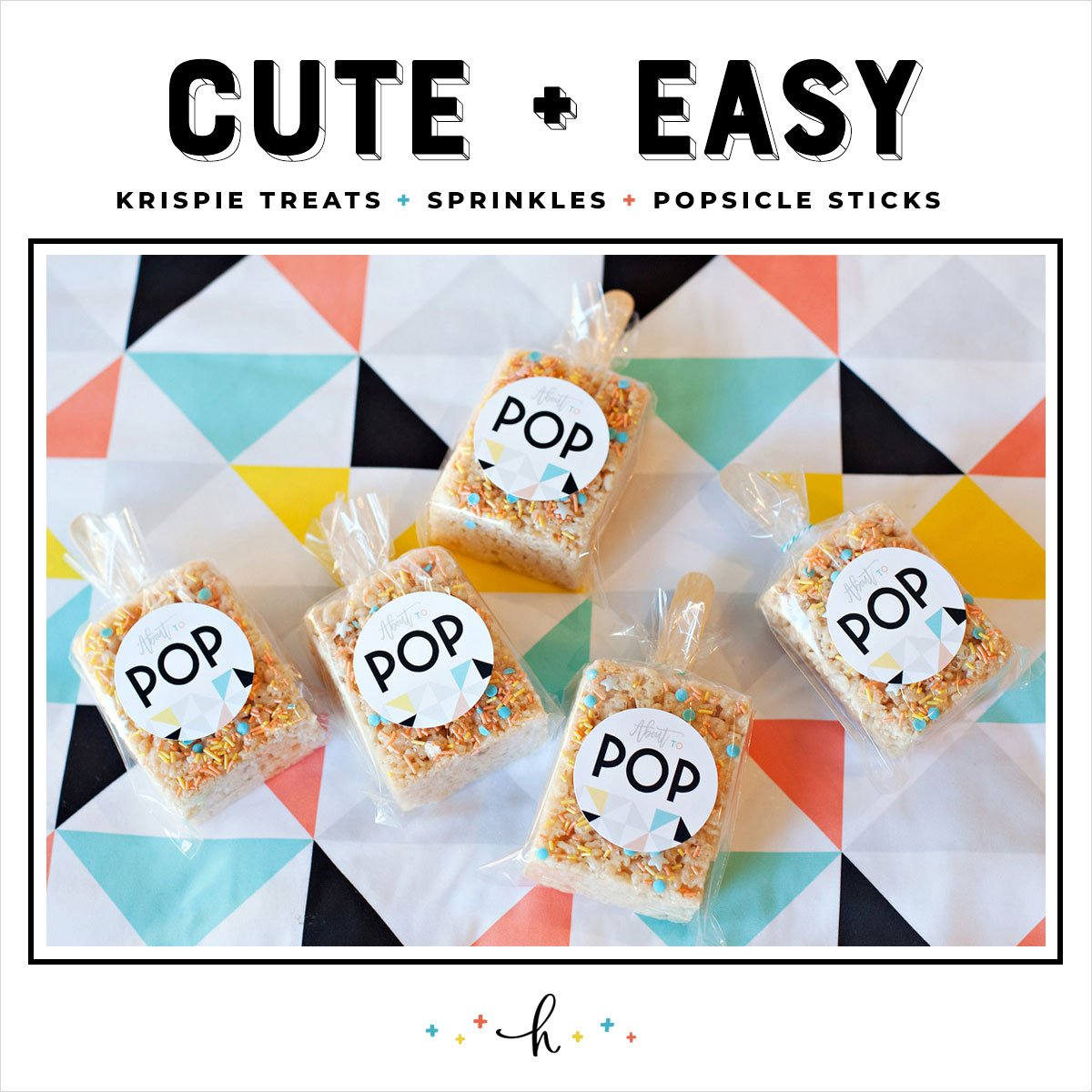 Rice Krispie Popsicle Favors