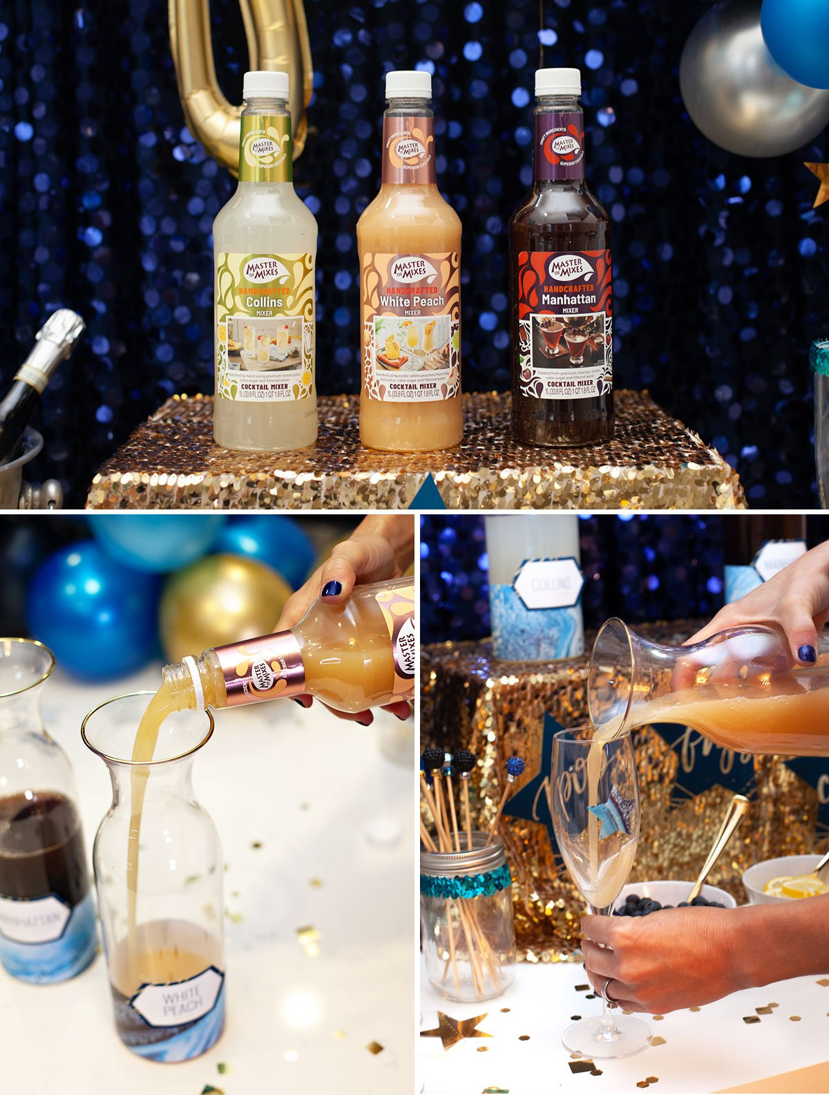 Champagne Bar Mixers