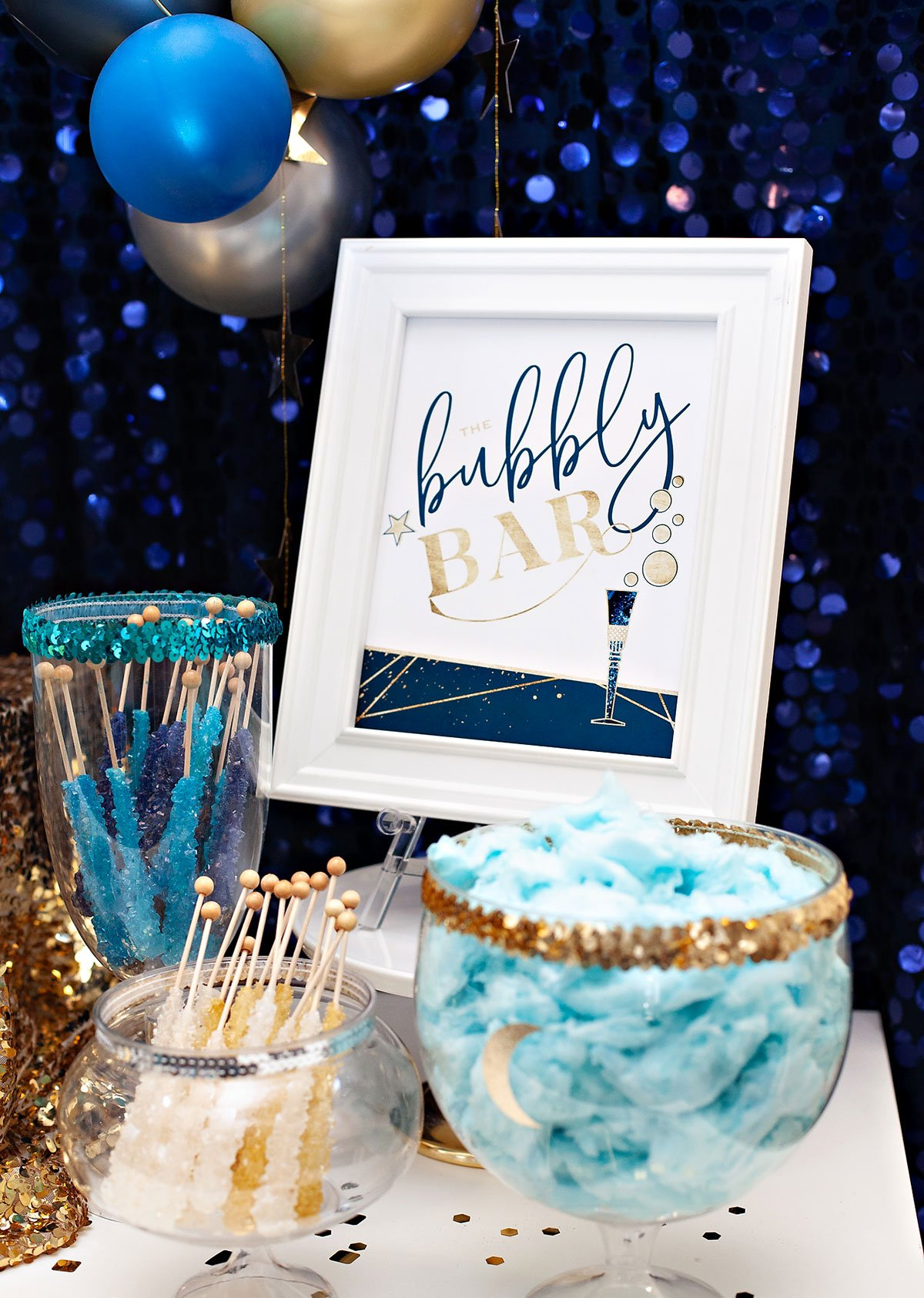 Bubbly Bar Printable Sign