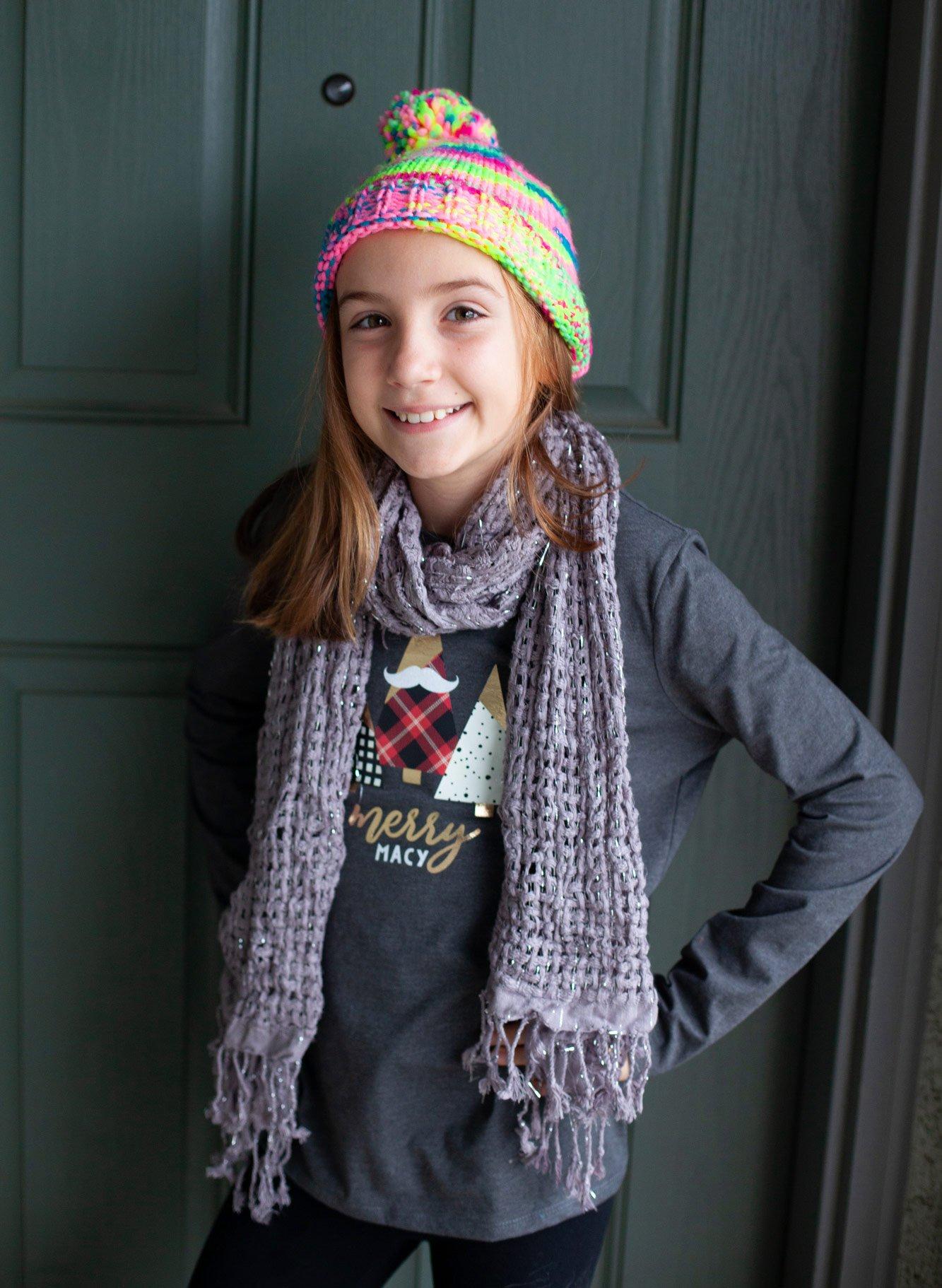 Cricut Kids Christmas Shirt Design